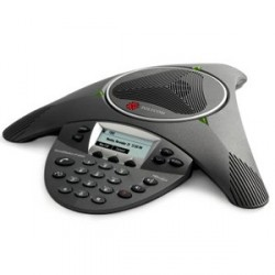 Audioconferencia Polycom SoundStation IP 6000 con fuente