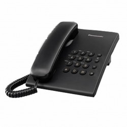 Imagen Teléfono analógico KX-TS500 (Negro)