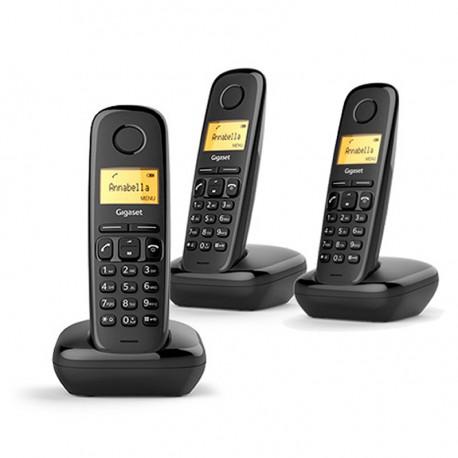 Teléfono inalámbrico Gigaset A170 Trío