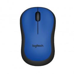 Ratón inalámbrico Logitech M220 azul