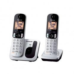 Imagen Teléfono dúo KXTGC212 gris