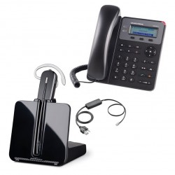 Pack auricular inalámbrico CS540 con teléfono IP GXP1615