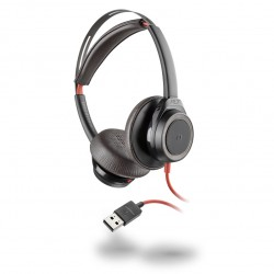 Auricular con cable Plantronics Blackwire 7225 A negro