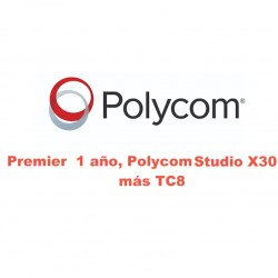 PREMIER ONE YEAR POLYCOM X30 y TC8