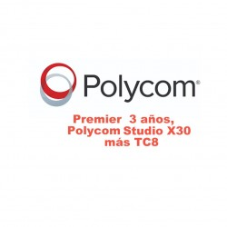 PREMIER THREE YEAR POLYCOM X50 y TC8