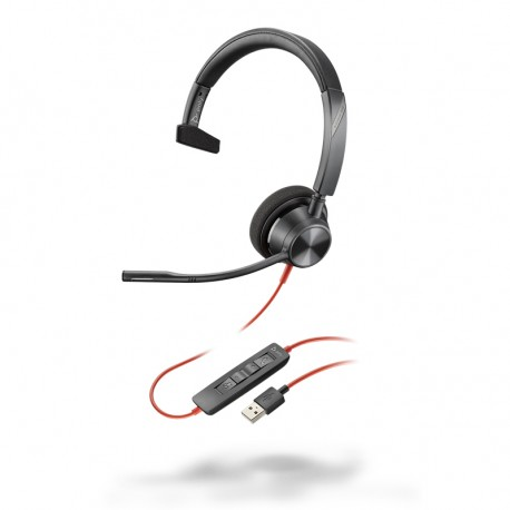 Auricular con cable Poly Blackwire 3310