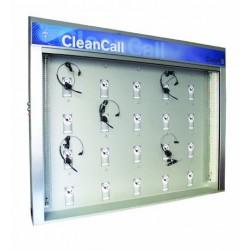 Armario CleanCall de Plantronics.