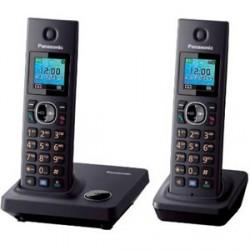 Teléfono inalámbrico Panasonic KX-TG7852SPB (Dúo)