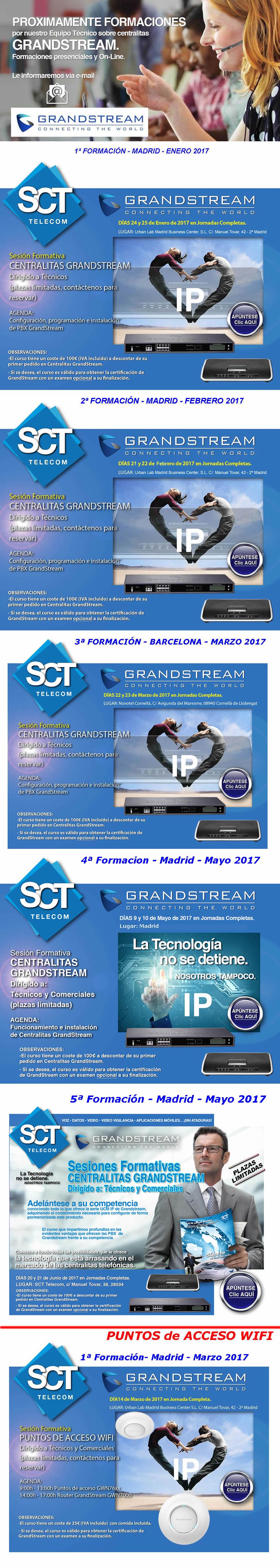 Formaciones SCT