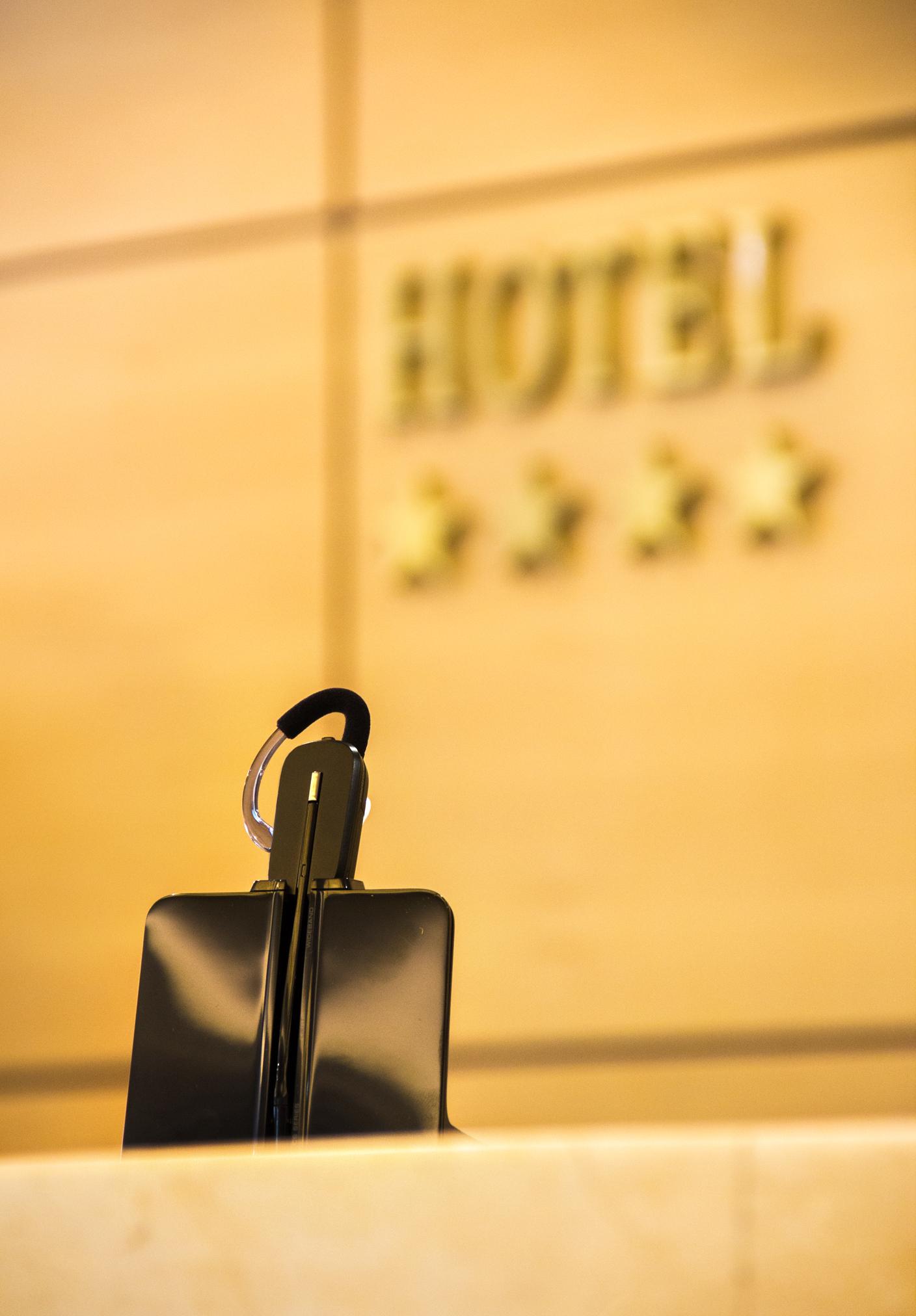 Plantronics CS540 en el Hotel Villa Madrid