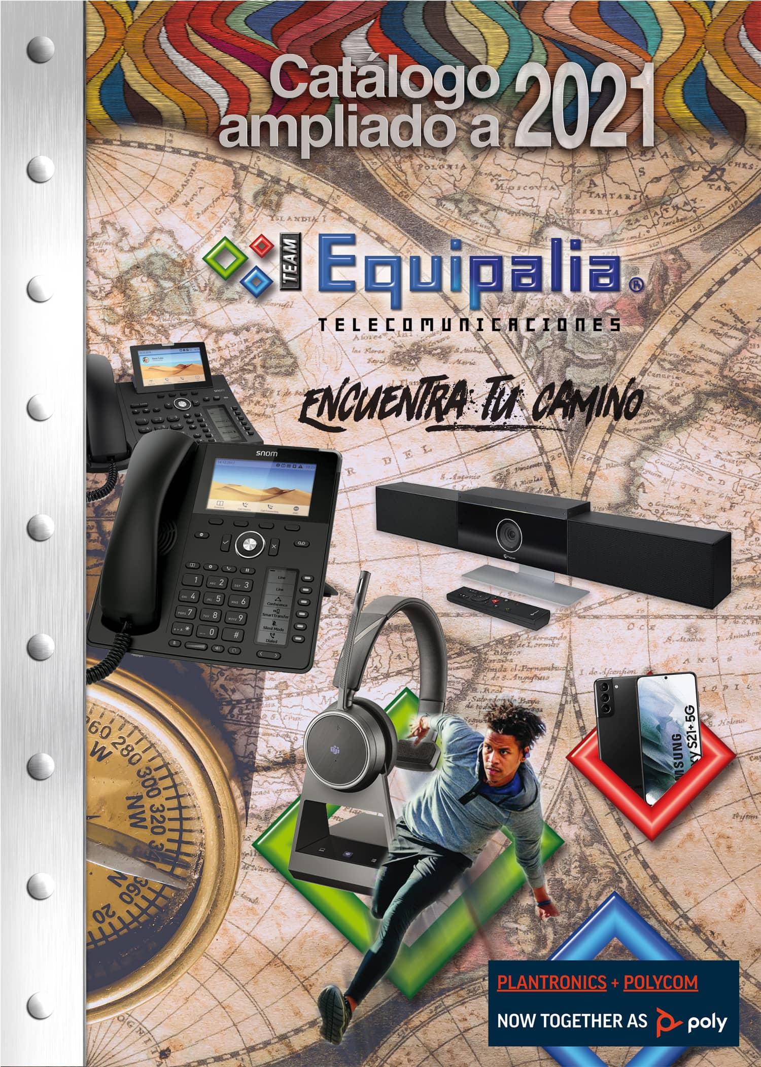 Portada Catalogo Team Equipalia 2021