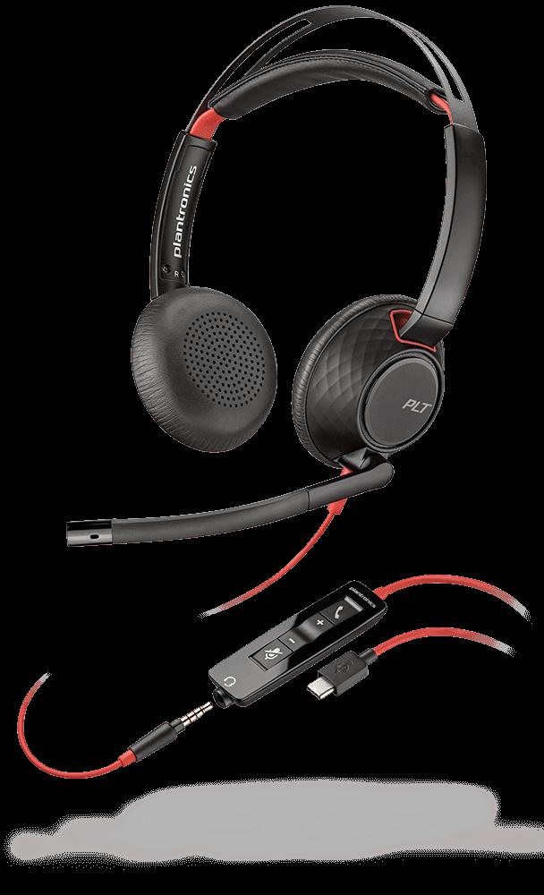 auricular plantronics blackwire 5220 para movil y pc