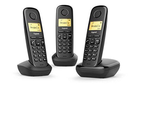 Trío de teléfonos inalámbricos Gigaset A170