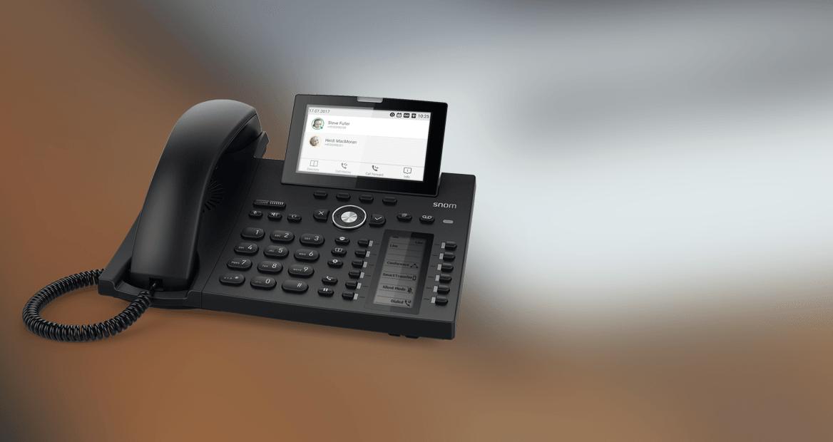 Teléfono IP SNOM D385
