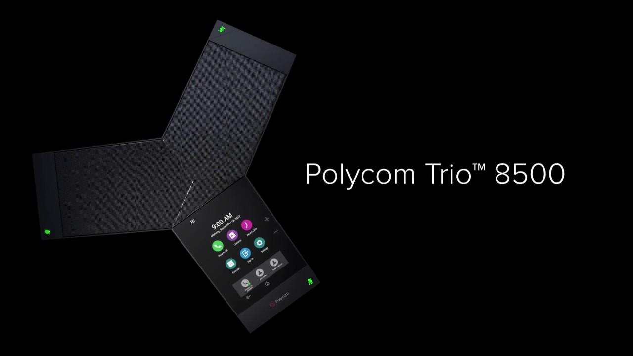 Audioconferencia Polycom Trío 8500 KIT