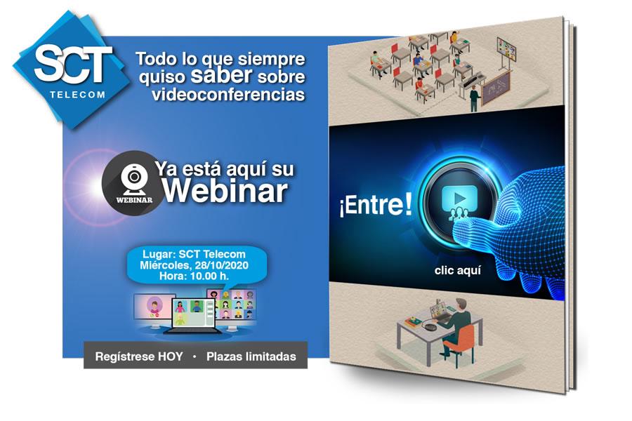 Webinar sobre Videoconferencias