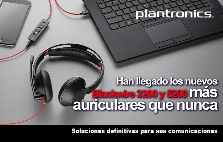 Nuevos auriculares Blackwire de Plantronics