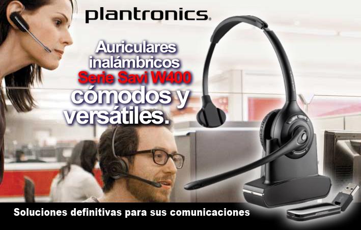 Plantronics auriculares inalambricos para PC