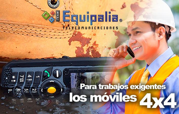 Telefonos Rugerizados en Team Equipalia